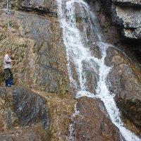 Водопад наощупь :: val-isaew2010 Валерий Исаев
