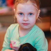 Софийка с щенком :: Константин Король