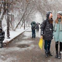 Зима в подарок :: Людмила Цвиккер