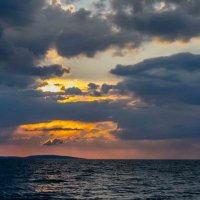 закат на море :: Михаил