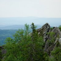 Национальный парк Таганай, Черная скала. :: Мария Ларионова