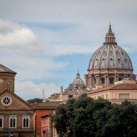 Рим: купол собора Святого Петра :: Елена Митряйкина