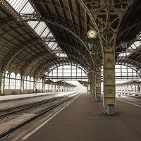 На перроне Витебского вокзала СПб :: El Кондукова