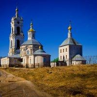Храм у реки Гусь :: Валерий Гудков