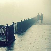 Туманное утро :: Николай Белавин