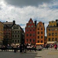Сторторгет - главная площадь Стокгольма :: максим лыков