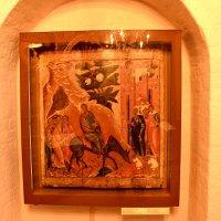 Икона церкви Входа Господня в Иерусалим. Вербное воскресенье. :: Владимир Болдырев