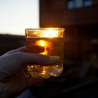 Солнце в хрустальных желтых бокалах... :: Кристина Воробьева