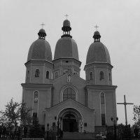 Кафедральный  собор  в  Надворной :: Андрей  Васильевич Коляскин