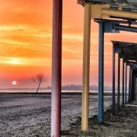 Вечер на пляже :: Александр Довгий