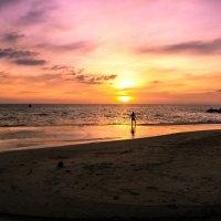 закат пляж найтон о. пхукет :: Екатерина Самохина
