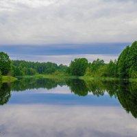 Озеро перед закатом :: Руслан Веселов