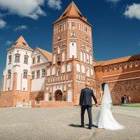 Свадебная фотосессия в Мирском замке :: Александр Тарасевич