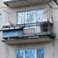 "Балкон ""Бывшего повара"") :: Галина Бобкина"