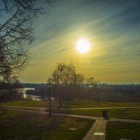 Москва, Коломенское, восход солнца :: Игорь Герман
