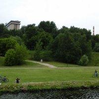 На велосипедах у реки :: Дмитрий Никитин