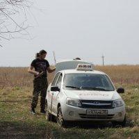 наши люди на такси на рыбалку ездят :: Евгения Чередниченко