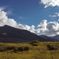 там, за облаками... :: liudmila drake