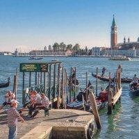 Сказочная Венеция. Гондольеры! :: Леонид Нестерюк