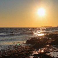Закат на Чёрном море :: Александр Довгий