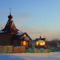 Сельский храм. :: nadyasilyuk Вознюк