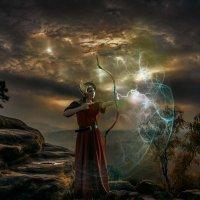 Богиня - воин :: Андрей Веселов ( Богомолов)