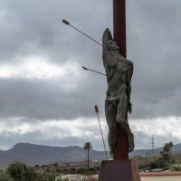 Памятник в деревне. В горах Гран Канария :: Witalij Loewin