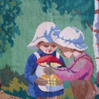 Вышивка ( работа моей бабушки) :: Горкун Ольга Николаевна