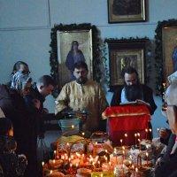 Освящение пасхи. :: Sergey Serebrykov