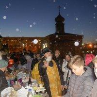 Вечером у храма. 15.04.17 :: Elena Izotova