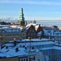 зимние крыши Стокгольма :: Елена