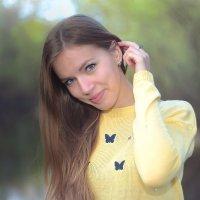 Портрет с бабочками :: Alex Alex