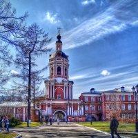 Колокольня Донского монастыря в Москве (1730-1753 гг.) :: Наталья Лакомова