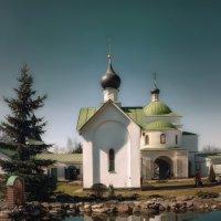 МОНАСТЫРСКИЙ ПРУД... :: Sergey Komarov