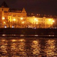 Вечерняя Прага в дождливый день. :: Марина Харченкова