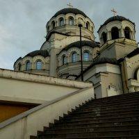 Храм в Олимпийском парке Сочи :: Антонина Владимировна Завальнюк