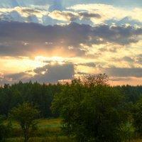 Утренний взрыв :: Ксения Соварцева