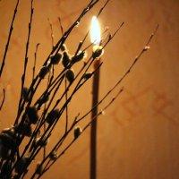 свечка свечечка свеча,разгони мою печаль... :: Анна Шишалова