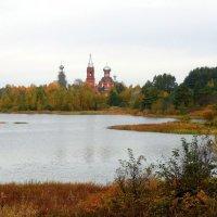 Настоящяя жемчужина Валдая - древний Ширков погост, расположившийся на озере Вселуг :: Елена Павлова (Смолова)