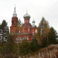 Каменная церковь Рождества Иоанна Предтечи в Широково :: Елена Павлова (Смолова)