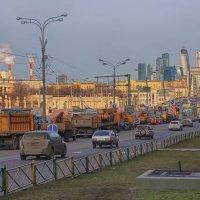 Московские будни... :: марк