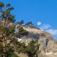 Луна над Чегетом :: Наталья Федорова