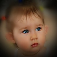 ах эти синие глаза... :: Lena