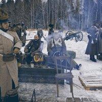 у артиллеристов 1812 года. :: Виктор Перякин