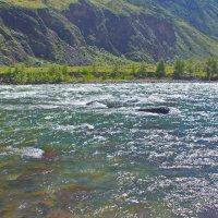 Серебро чулышманской воды :: val-isaew2010 Валерий Исаев