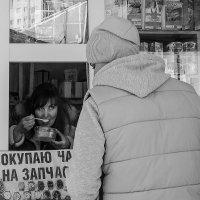 Война, войной, а обед, по расписанию. :: Виктор Гузеев