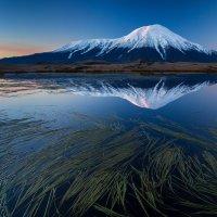 Рассвет у вулкана Толбачик :: Egor Vlasov