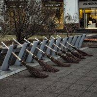Перехватывающая парковка ... :: Сергей Козырев