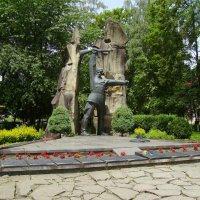 Памятник  советским  воинам  в  Яремче :: Андрей  Васильевич Коляскин