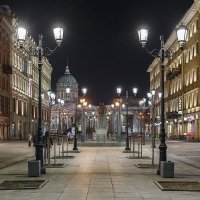 Малая Конюшенная улица, СПб :: Александр Кислицын